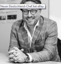 Stefan Wenzel ist neuer Chef bei Ebay Deutschland